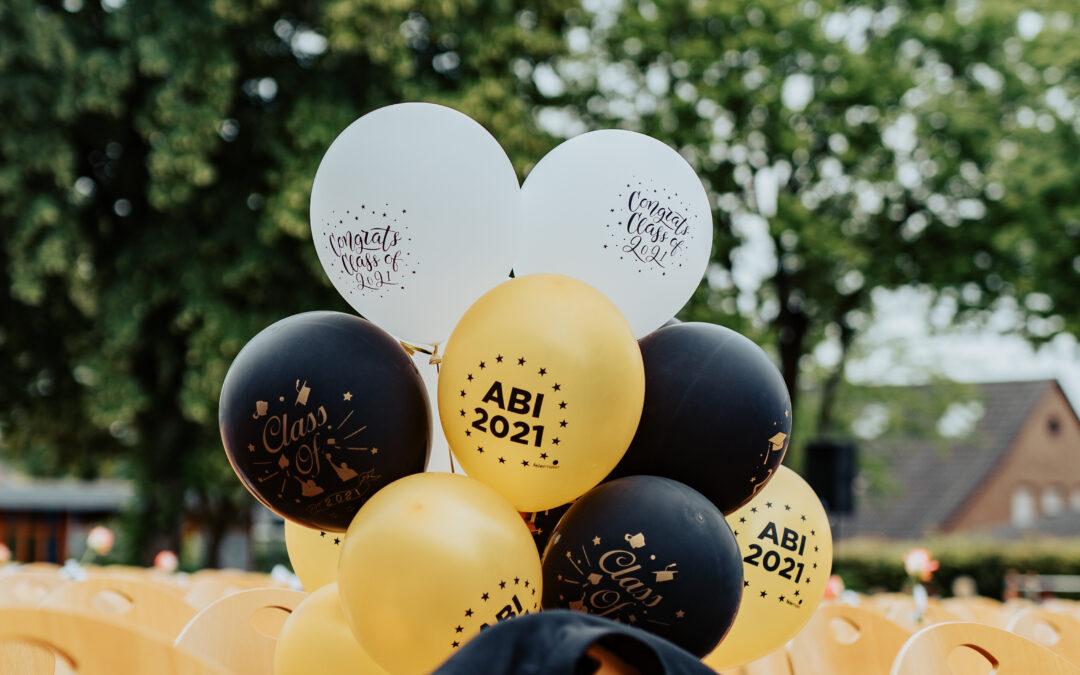 Abitur 2021 an der Gesamtschule Hünxe